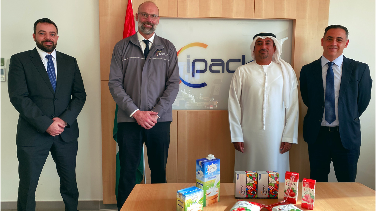Emirates Development finances Ipack