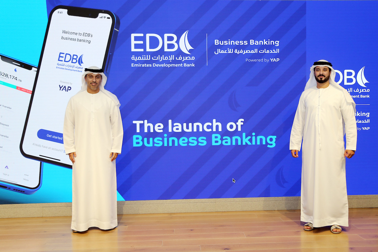 Emirates Development Bank launches Business Banking App for SMEs in partnership with YAP